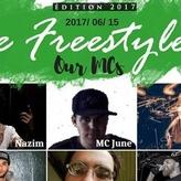 MC JUNE à LE FREESTYLE