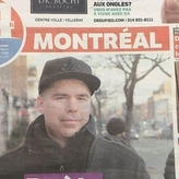 On the cover of 24h newspaper