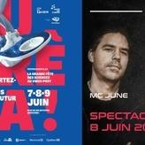 MC JUNE au Festival Eurêka